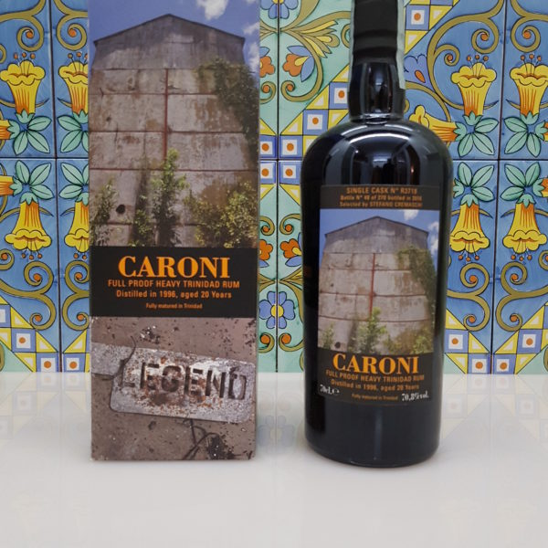 "Rum Caroni "" Cremaschi"" 20 Y.o. Single Cask vol. 70.8% Velier cl.70"