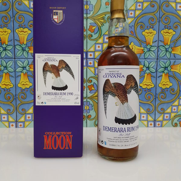 Rum Demerara Enmore 1990 Moon Import 26 Y.O. vol. 45% cl. 70