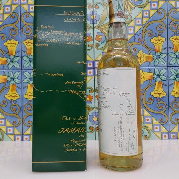 """Rum """"Sugar Estates Jamaica 1949"""" Moon Import 12 Y.O. Vol. 45% cl. 70"""