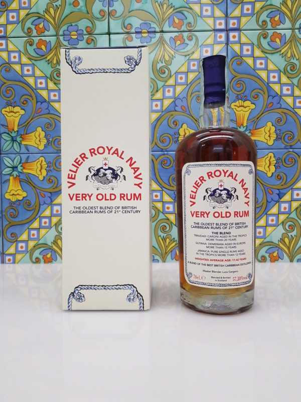 Rum Royal Navy 1990  Vol.57,18%  cl.70 Velier