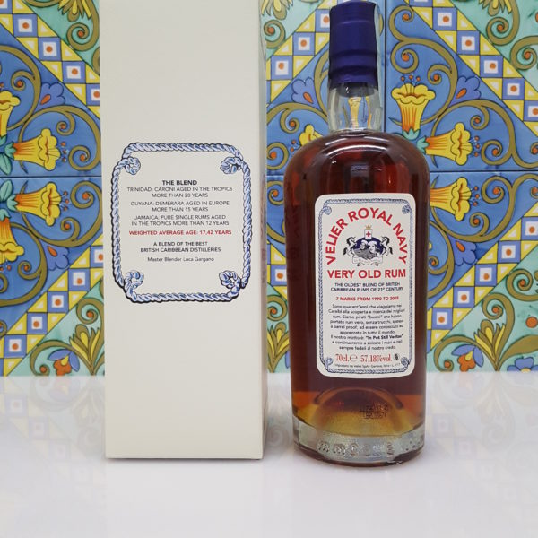 Rum Royal Navy 1990  Vol.57,18%  cl.70 Velier