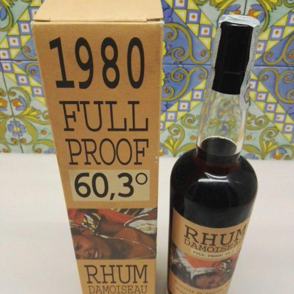 Rum Rhum Damoiseau 1980 Full Proof Vol. 60.3% Velier cl.70
