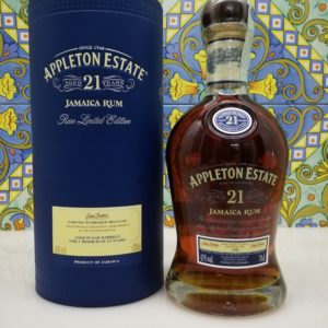 Rum Appleton Estate 21 Y.o Vol.43% cl.70 Jamaica Rum