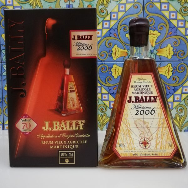 Rum Rhum J.Bally 2006 Vol.43%  cl.70 Agricole Martinique Velier