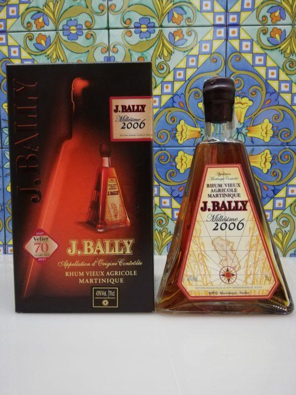 Rum Rhum J.Bally 2006 Vol.43%  cl.70 Agricole Martinique Velier