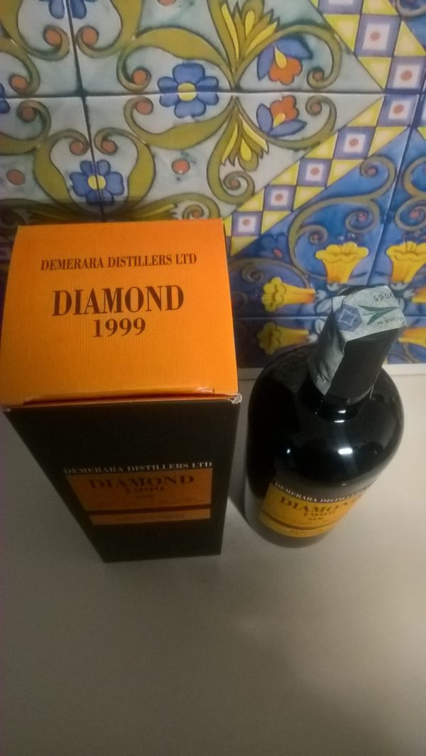 Rum Demerara Diamond 1999 15 Y.o Vol.64,7% cl.70  Velier (SVW)