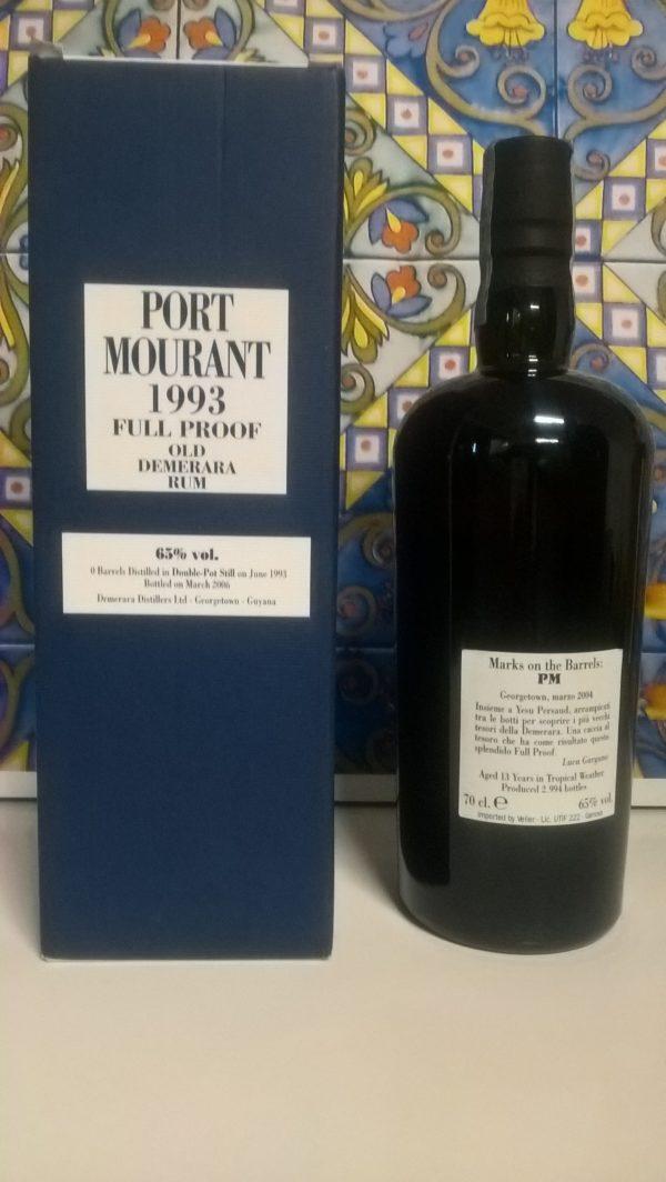Rum Demerara Port Mourant 1993 13 Y.o Vol.65% cl.70 Velier
