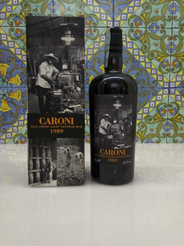 Rum Caroni 1989 17 Y.o. only 680 bot. Vol.64,2% Velier cl.70