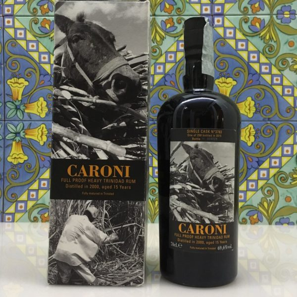 Rum Caroni 2000 15 Y.o. Vol.69,6% Single Cask Velier cl. 70