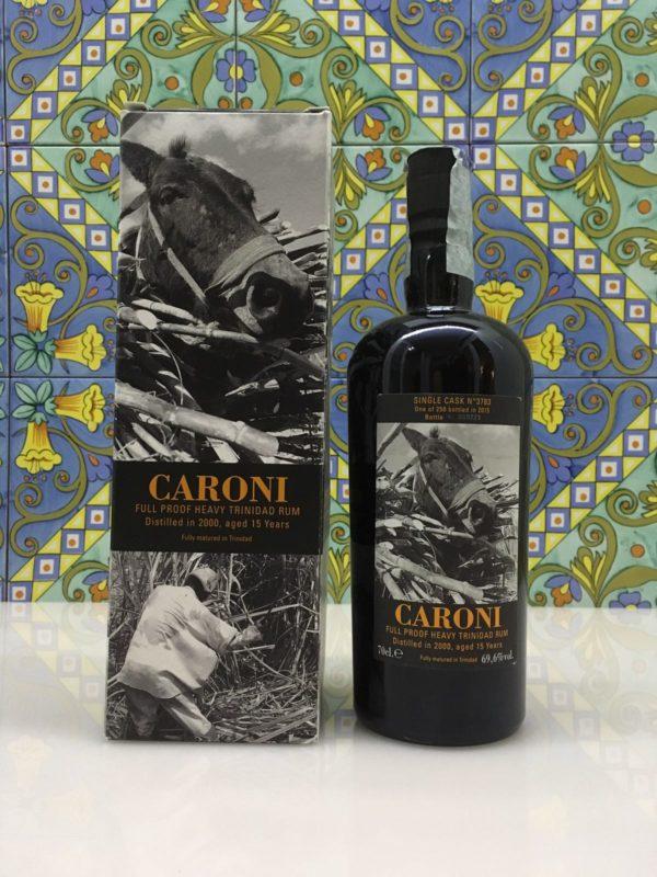 Rum Caroni 2000 15 Y.o. Vol.69,6% Single Cask Velier cl. 70