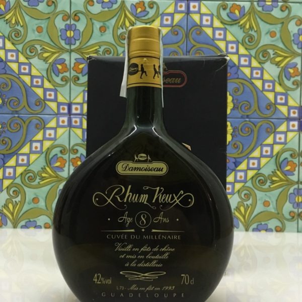 Rum Rhum Damoiseau 8 Y.o Cuvèe du Millènaire 1993 cl.70