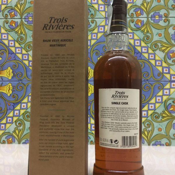 Rum Rhum Trois Rivières 2006 – 7 Y.o. Vol.43% Single Cask cl.70