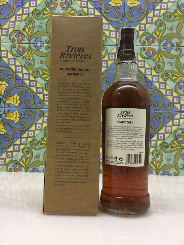 Rum Rhum Trois Rivières 1999 – 16 Y.o. Vol.42% Single Casks cl.70