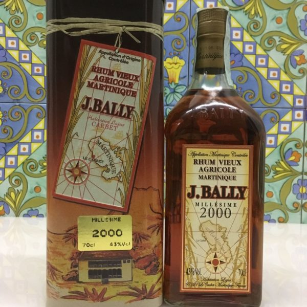 Rum Rhum J.Bally 2000 Vol.43%  cl.70 Agricole Martinique Velier