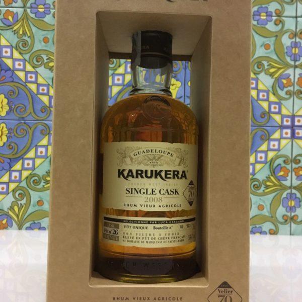 Rum Rhum Karukera 2008 Vol.53,4%  Single Cask 70° Velier cl.70