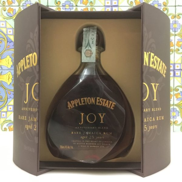 Rum Appleton Estate JOY 25  Y.o Vol.45% Rare Jamaica Rum cl.70