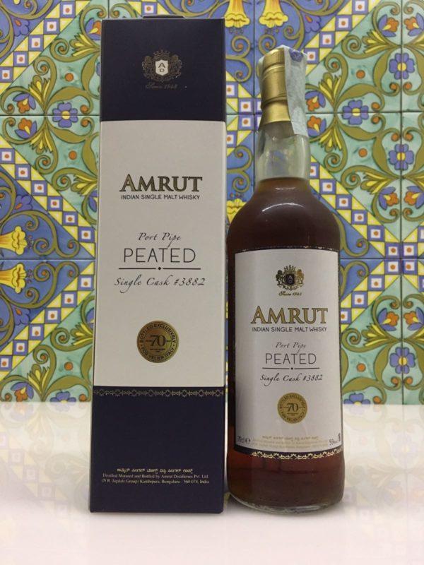 Whisky Amrut 2011 Port Pipe Single Cask 59° 70th Anniversary Velier cl.70