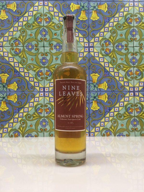 Rum Japan Nine Leaves  Vol.48% Almost Spring cl.70