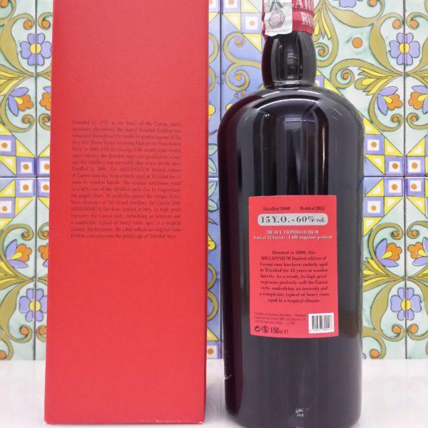 Rum Caroni 2000 Millennium Velier vol. 60% Lt 1,5