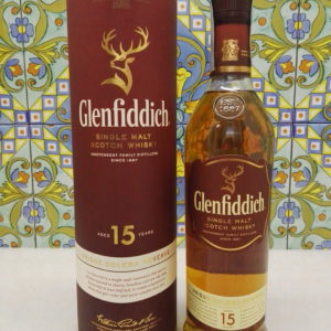 Whisky Glenfiddich 15 Y.o. Single Malt Vol.40% Cl.70