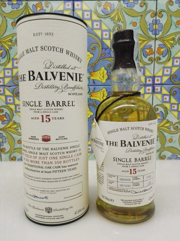 Whisky The Balvenie Single Cask (bot. n.120) 15 Y.o. Vol.47,8% Cl.70