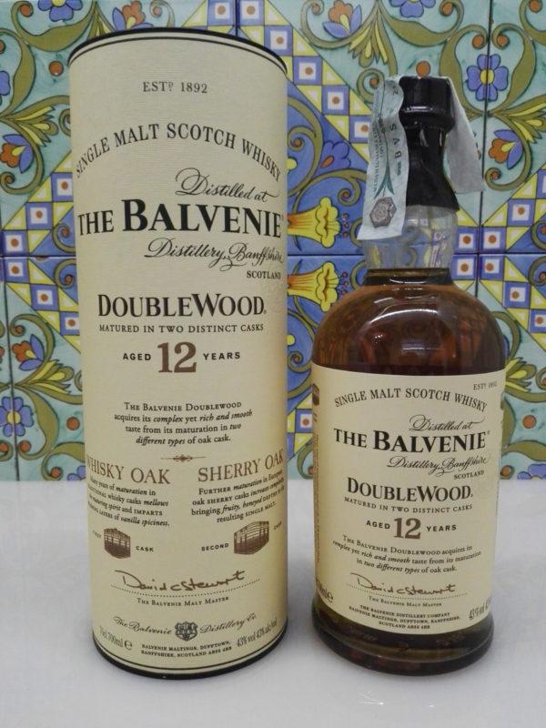 Whisky The Balvenie 12 Y.o. Single Malt DoubleWood Vol.43% Cl.70