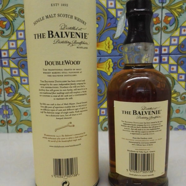 Whisky The Balvenie 12 Y.o. Single Malt DoubleWood Vol.43% Cl.70