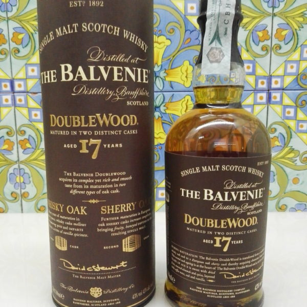 Whisky The Balvanie 17 y.o. Doublewood Vol.43% Cl.70