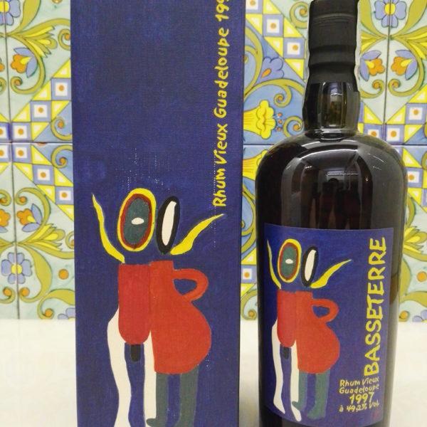 Rum Basseterre 1997 Velier Vol.49,2% Cl.70