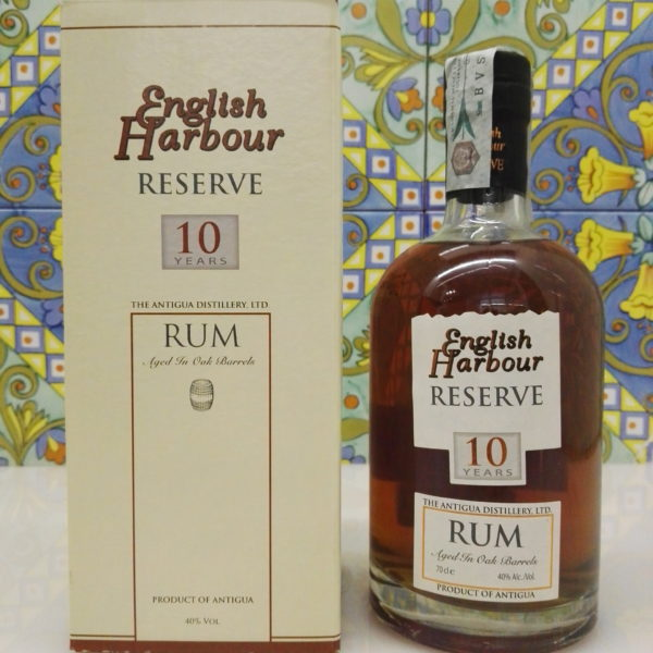 Rum English Harbour Reserve 10 Years Vol.40% Cl.70