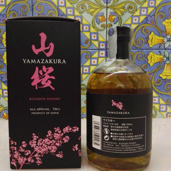 Whisky Yamazakura Blended Vol.40% Cl.70
