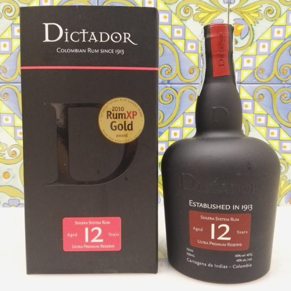 Rum Dictator Ultra Premium Reserve 12 Years Vol.40% Cl.70