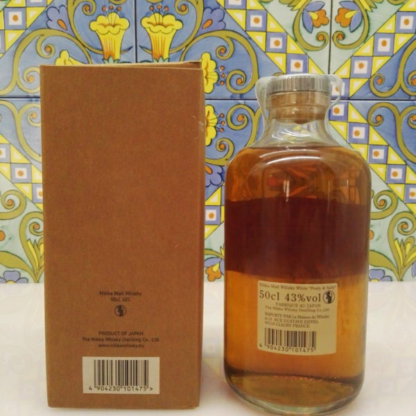 "Whisky Nikka White ""Peaty & Salty"" Pure Malt Vol.43% Cl.50"