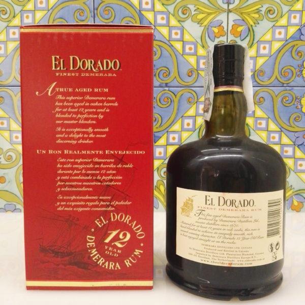 Rum El Dorado 12 Y.o. Finest Demerara Vol.40% Cl.70
