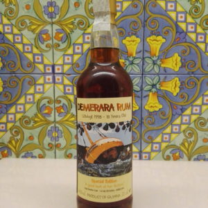 Rum Demerara Uitvlugt 1998-18 Y.o. Single Bourbon Cask Vol.46% Cl.70