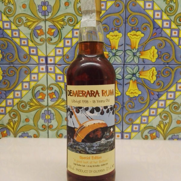 Rum Demerara Uitvlugt 1998-18 Y.o. Single Bourbon Cask Vol.46% Cl.70