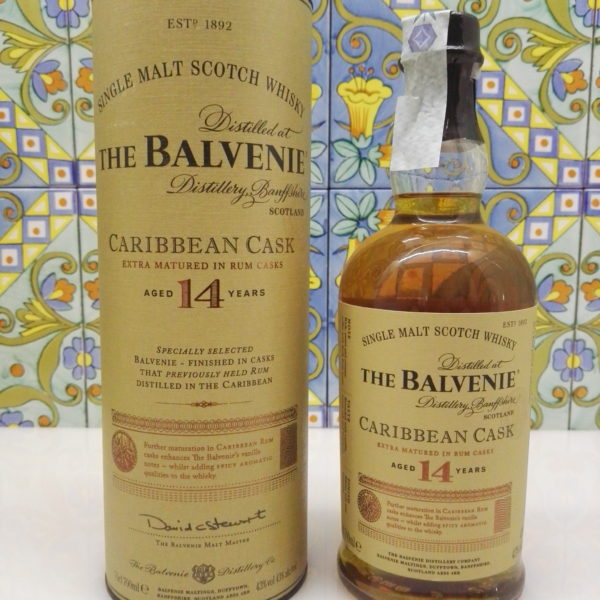Whisky The Balvenie 14 Years Caribbean Cask Single Malt  Vol.43% Cl.70