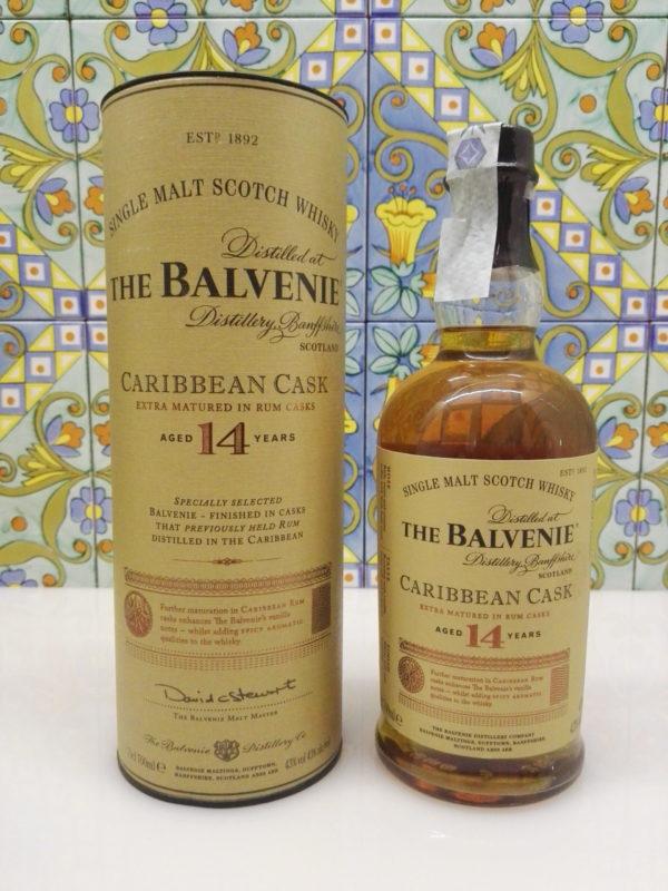 Whisky The Balvenie 14 Years Caribbean Cask Single Malt  Vol.43% Cl.70