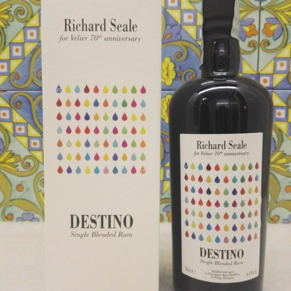 Rum Richard Seale Foursquare Destino 70° Velier Vol.61% Cl.70