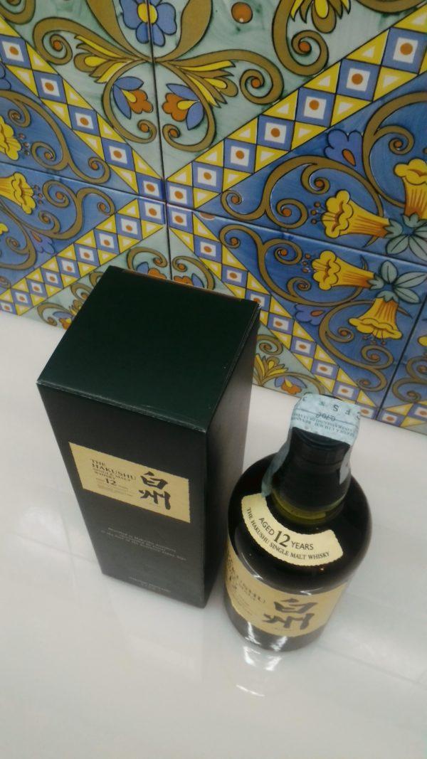 Whisky Suntory Hakushu Single Malt 12 y.o. Vol.43% Cl.70