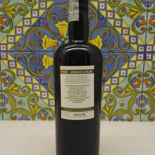 Rum Jamaica Samaroli 1992 Vol.45% cl.70 Single Cask  Bottled 2007