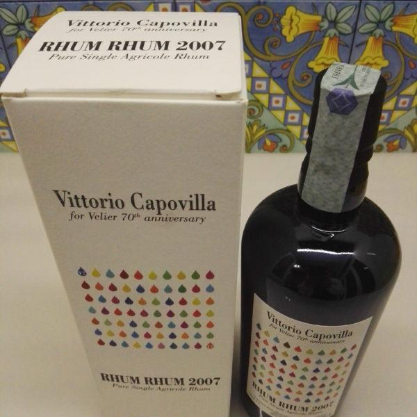 Rhum Rhum 2007 Capovilla Vol.57% cl.70 distillery Bielle Marie Galante 70th Velier
