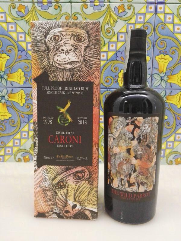 Rum Caroni 1998 The Wild Parrot  20 Y.o Vol.63,5% cl.70 Single Cask – WP98635