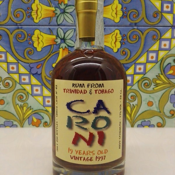 Rum Rhum Caroni 1997 19 Y.o Vol.57% cl.50 Single Cask N°62 by Bar Metro – Rum Festival
