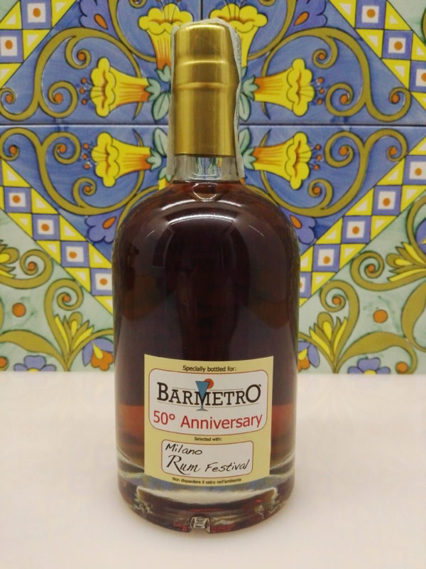Rum Rhum Caroni 1997 19 Y.o Vol.57% cl.50 Single Cask N°62 by Bar Metro – Rum Festival