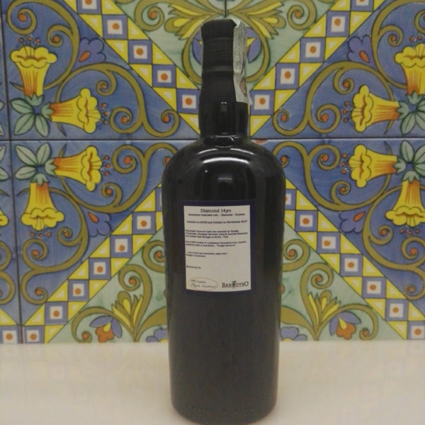 Rum Diamond 2003 14 Y.o cl.70 Demerara – Single Cask by Bar Metro