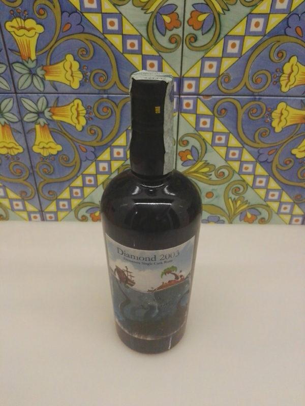 Rum Diamond 2003 14 Y.o cl.70 Demerara – Single Cask by Bar Metro