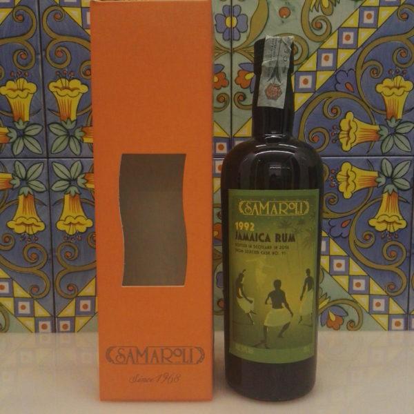 Rum Samaroli Jamaica 1992 Vol.54% Bottled 2016 Single Cask cl.70