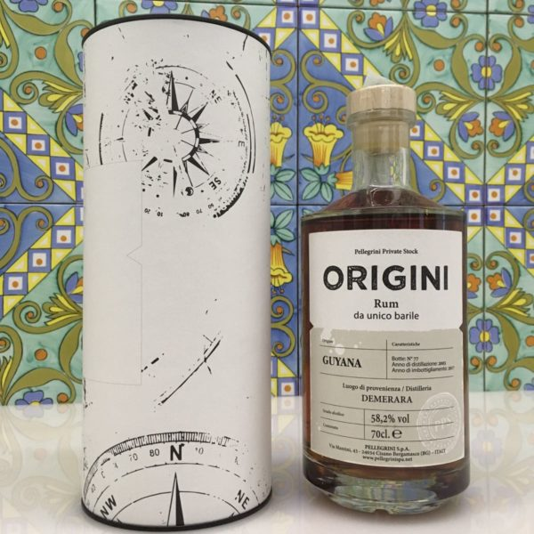 Rum Guyana Demerara 2003 14 Y.o Vol.58,2% cl.70 – Pellegrini