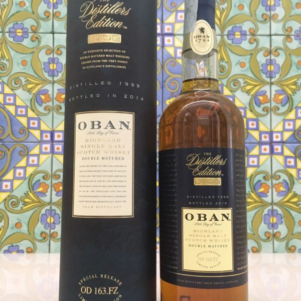 Whisky Oban 1999 Vol.43% cl.70 Distillers Edition – Bottled 2014